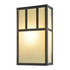 Mission Wall Sconce With Switch : Brown Wall Sconces with a Dimmer Switch Houzz