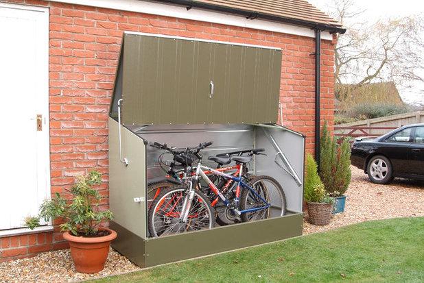 Orden en casa inv ntate un trastero en cualquier espacio for Caseta para guardar bicis