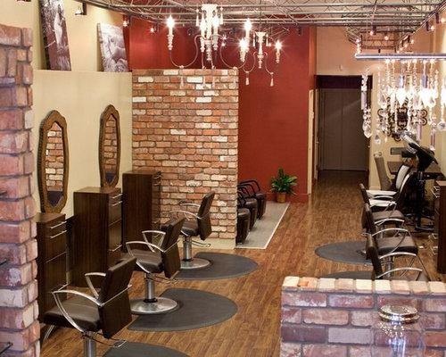 6287 contemporary hair salon home design photos - Hair Salon Design Ideas Photos