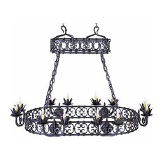 Orizaba Wrought Iron Chandelier