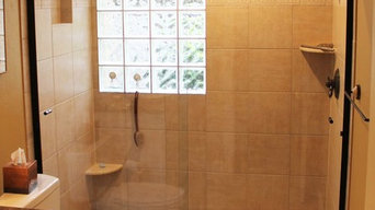 Shower Enclosure Bypass Slider with Knobs
