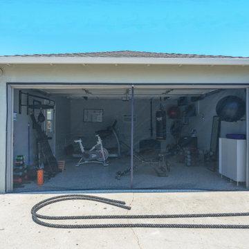 Garage Conversion to Home Gym