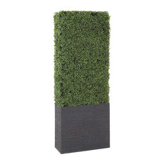 Residence - Solana Boxwood Panel - Artificial Plants and Trees