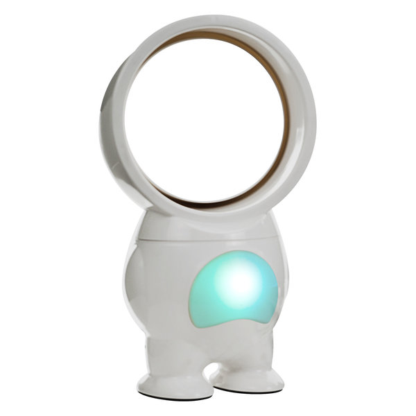 Stay cool in style with the robot inspired USB-Powered Robo Bladeless Fan with Light, 11\