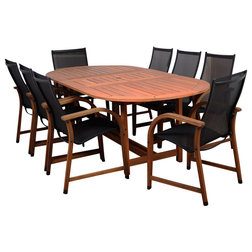 Transitional Outdoor Dining Sets by Contemporary Furniture Warehouse