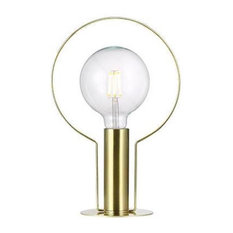 Nordlux - Dean Halo Table Lamp, Brass - Table Lamps