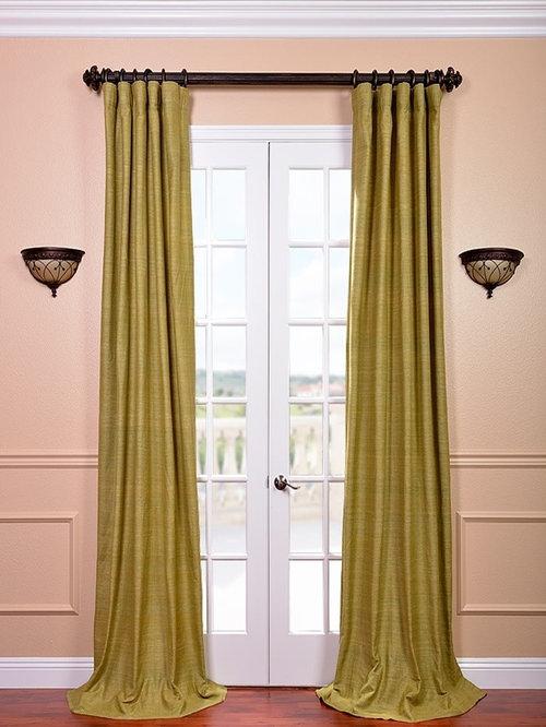 Curtains Ideas 115 inch curtains : Raw Silk Curtains