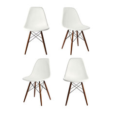 Modern Dining Room Chairs midcentury modern dining room chairs | houzz