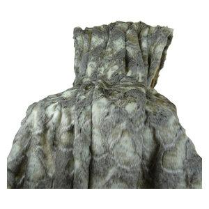 Plutus Rabbit Faux Fur Throw Blanket, 60x96