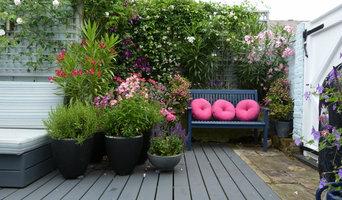 Contemporary Decked Garden