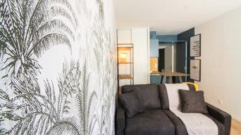 Aménagement et décoration studio à Nice