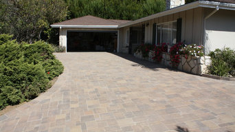 Pacific Palisades, CA Interlocking Pavers Driveway