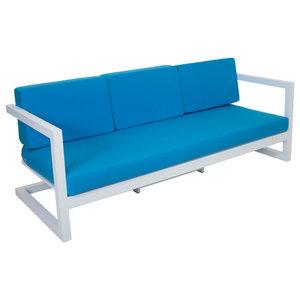 Outdoor 3-Seat Alhama Sofa, White