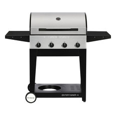 Entertainer 4 BBQ Grill, Stainless Steel, Propane