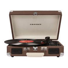 Cruiser Suitcase Turntable, Tweed