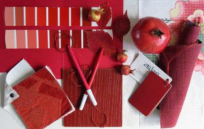 Colore del Mese: Rosso Melograno