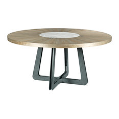 American Drew AD Modern Synergy Concentric Round Dining Table 700-706R