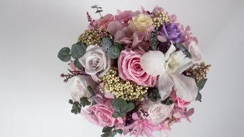 Интерьерная флористика из стабилизированных цветов
