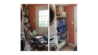 Organizing Before & Afters