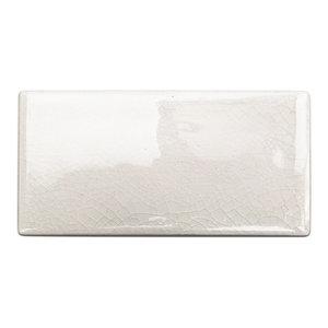 "Oracle 3""x6"" Ceramic Subway Tile, Blanco"