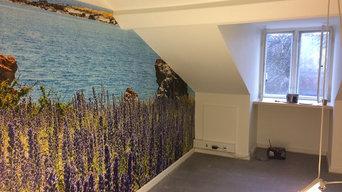 Inspiration til malerarbejde- forskellige projekter