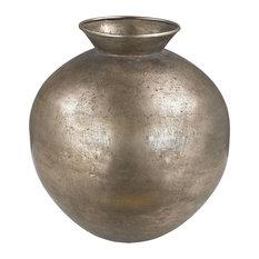 Bulbous Metal vase
