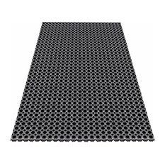 Octagonal Type 100% Rubber Hollow Mat