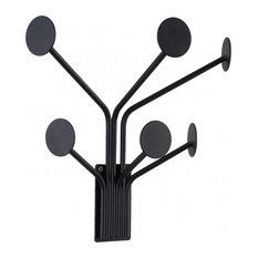 Dots Coat Hanger, Black