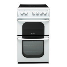 Hotpoint 52TCWS 50cm Freestanding Electric Cooker Whitep