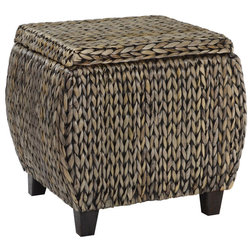 Tropical Footstools And Ottomans by Gallerie Decor