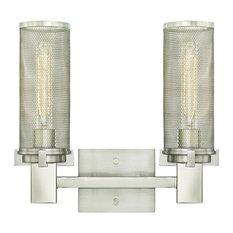 "Westinghouse 6330400 Adler 2 Light 14-1/8"" Wide Bathroom Vanity Light"