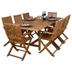 Nice Craftsman Outdoor Dining Sets by International Home Miami Corp