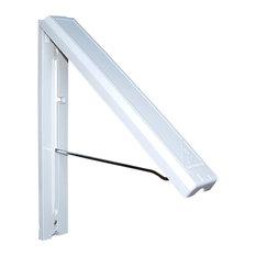 Arrow Hanger - InstaHANGER, White - Closet Organizers