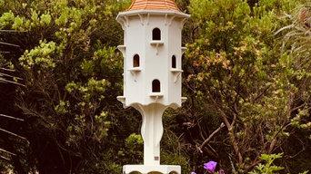 Dovecote. 12 nesting hole. Made By Andrew Renn. madebyandrewrenn@gmail.com.au