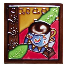 Cacao Dark Coffee Tile