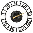 """Cambridge Floating Ring 21"""" Indoor Outdoor Wall Thermometer"""