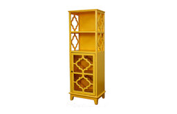 Vicenza Yellow Shelving Unit
