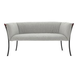 Smeralda Sofa  Light Gray  EcoFirstArt