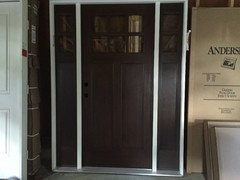Therma-Tru fiberglass door - any odor/offgassing?
