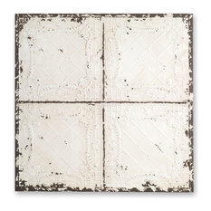 """Ceiling Tile, Set of 2, 25""""Iron"""