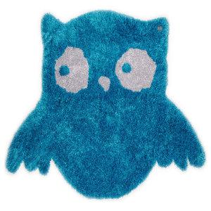 Tom Tailor Kids Rug, Owl, Turquoise, 100x120 cm