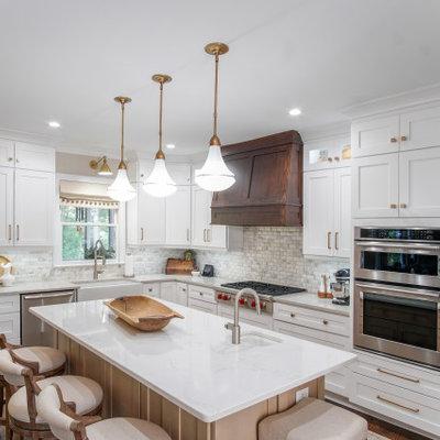 Inspiration for a contemporary home design remodel in Atlanta