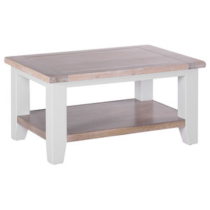 Rectangular Coffee Table, Light Grey