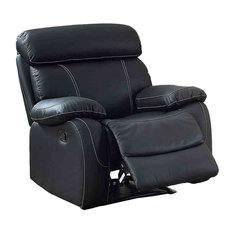 Patwood Recliner Chair Black Leather