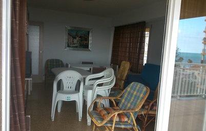 El increíble cambio de un apartamento a pie de playa