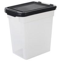 12.75 Quart Airtight Pet Food Container, Black