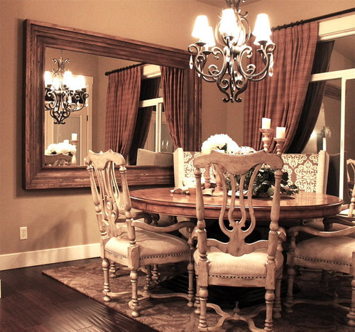 Mirrors In Dining Rooms