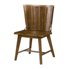 Hammary Furniture - Flashback Desk Chair by Hammary, Rusty Red-Brown - Office  Chairs