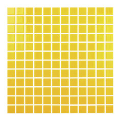 "12.5""x12.5"" Yellow Glass Tile"