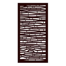 Bungalow Modular Decorative Screen Panel, Single